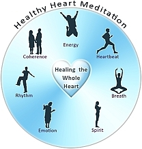 healthy heart meditation energy